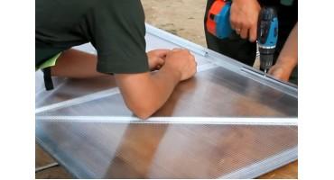 Инструкция по монтажу сотового поликарбоната